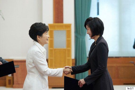 조윤선 전 문화부장관이 박근혜 전 대통령에게 추천했던
