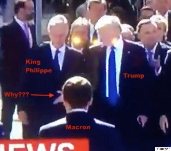 전 세계의 지도자들이 유념해야 할 '트럼프식 악수'에 숨겨진 광기와