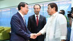 박원순, 두테르테 필리핀 대통령