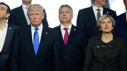 트럼프는 NATO 회의에서 왕따였던 것 같다