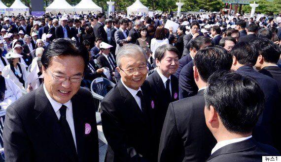현장 기자가 전한 '5·18 기념식' 찾은 안철수