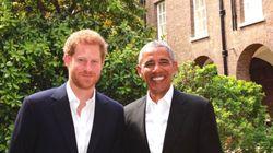 버락 오바마와 해리 왕자가