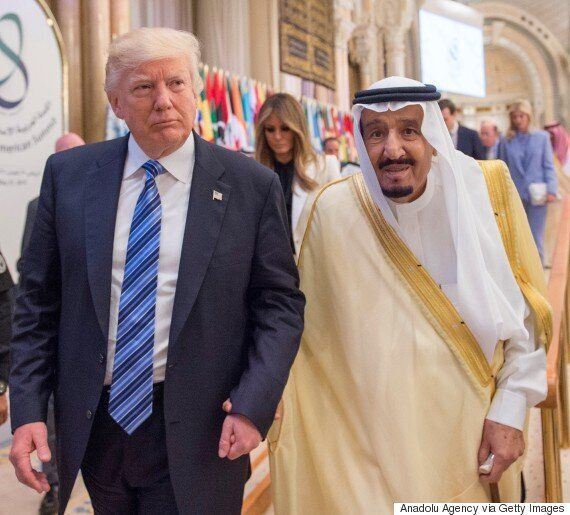 도널드 트럼프가 사우디에서