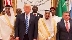트럼프가 사우디에서 이슬람을