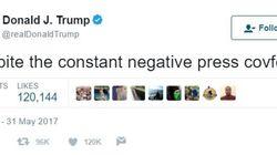 미국에서는 'covfefe'라는 단어가 유행