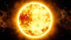나사(NASA)가 태양으로