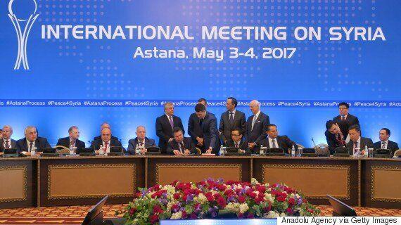 러시아, 이란, 터키가 시리아 안전지대 설립에 최종