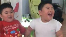 스눕독이 공유한 이 쌍둥이의 영상이 모두를 행복하게 만들고