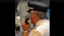 파일럿이 자신의 백만번 째 승객에게 준 선물