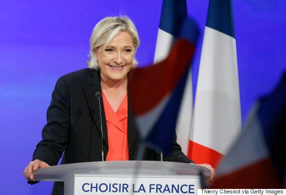프랑스 대선에서 패배한 마린 르펜이
