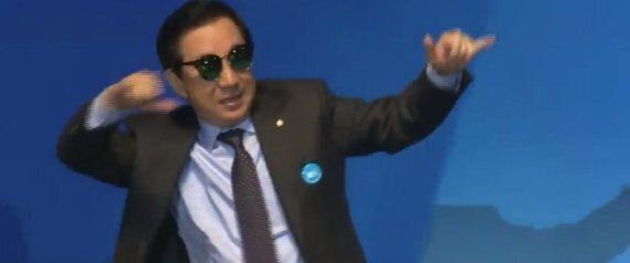 '바른정당 탈당' 김성태에 안민석이 위로의 말을