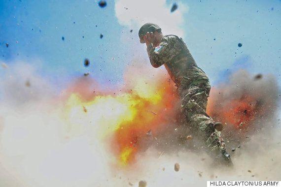 전투 사진작가가 죽기 직전에 찍은 마지막 사진이