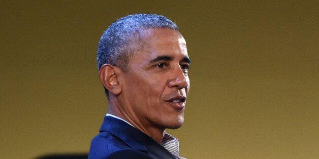 MILAN, ITALY - MAY 09: Former US President Barack Obama speaks during the Seeds&Chips Global Food Innovation...