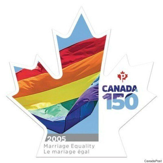 동성결혼 지지를 우표에 담은 나라가