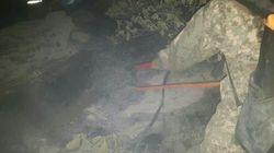 '사드 배치지' 인근에서 산불이