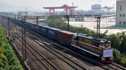 중국의 고속철도 건설 현장에서 폭발 사고로 12명이