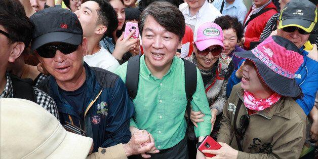 국민의당이 '샤이 안철수가 나타났다'며 역전 승리를