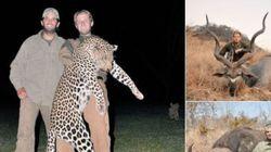 트럼프 아들들 '사냥 인증샷'