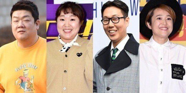 [공식입장] '님과함께2' 유민상♥이수지 하차→김영철♥송은이
