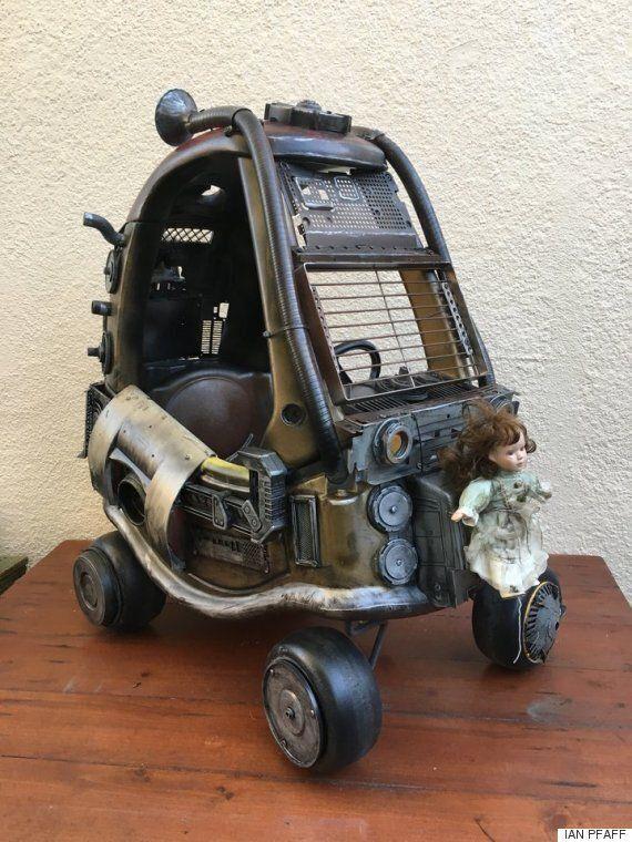 '매드맥스'를 좋아하는 아빠가 아이들의 장난감을
