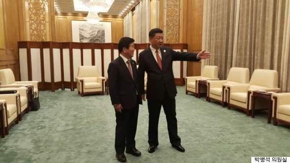 시진핑, 문재인 정부 정치 철학을 높게