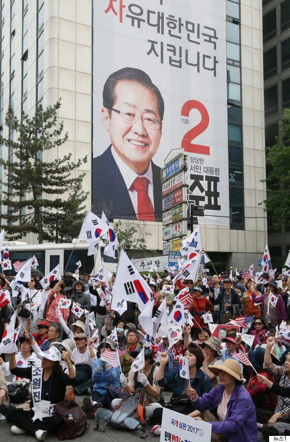 [출구조사 결과] 자유한국당은 담보로 맡긴 건물을 지킬 수