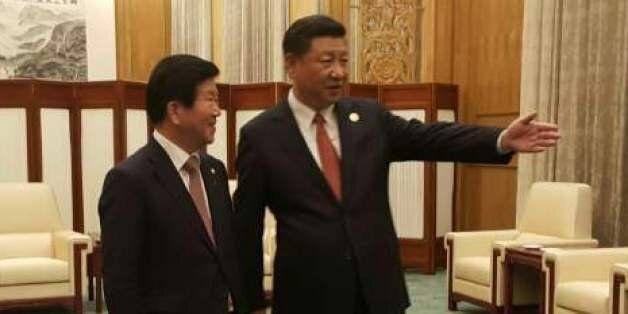 시진핑 만나고 돌아온 박병석 대표단장은