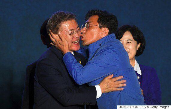 안희정 충남지사가 화제의 키스 장면에 대해 소감을