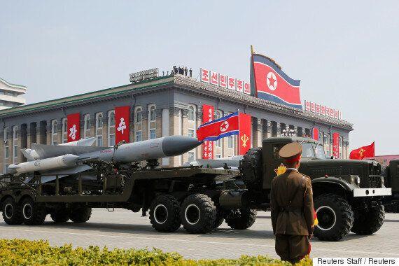 김정은이 4월에만 탄도미사일 3발을