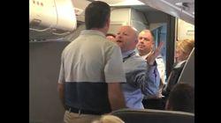 또 하나의 미국 항공사가 손님과 충돌한 승무원을