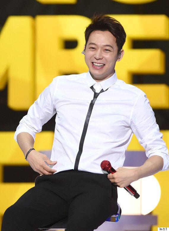 그룹 JYJ의 멤버 박유천이