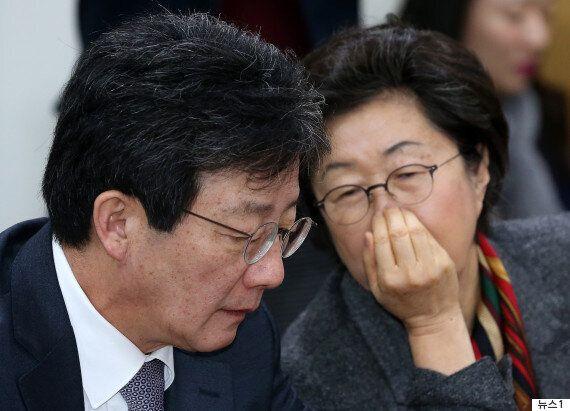 이은재가 바른정당을 탈당해 자유한국당으로 복귀하는 첫 번째 의원이