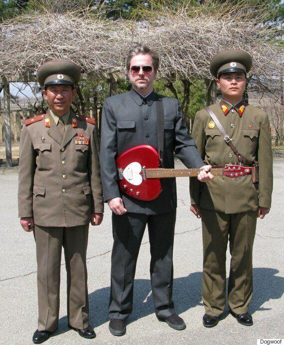 세계 최초로 북한에서 공연을 했던 록밴드가 이제 남한을