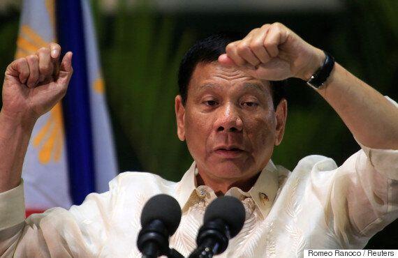트럼프가 필리핀 두테르테를 백악관에