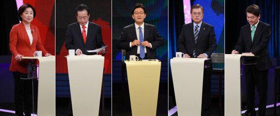 11명의 후보가 대선 토론을 하면 어떤