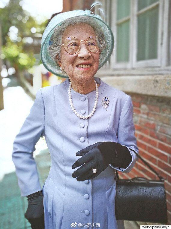 이 할머니는 엘리자베스 여왕을
