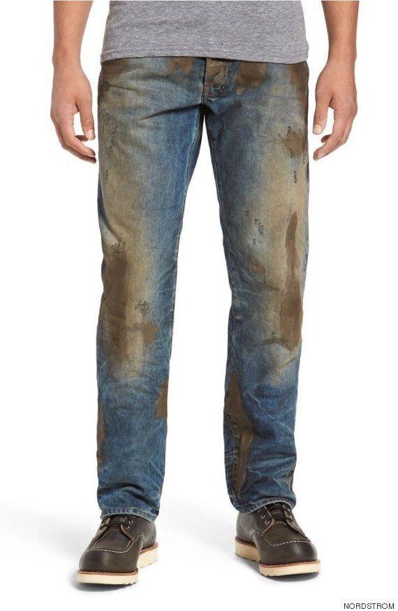 당신도 48만 원만 있으면 이 '진흙 묻은' 청바지를 살 수