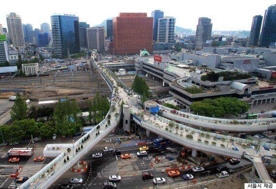 새롭게 변신한 '서울역 고가'를 걸어봤다(사진