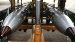 미국의 신형 핵폭탄이 투하 시험에