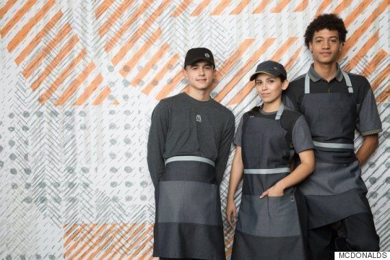 미국 맥도날드의 새로운 유니폼에서 사람들은 '디스토피아'를