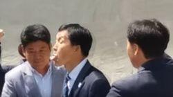 춘천 MBC 사장이 시위 중인 노조를