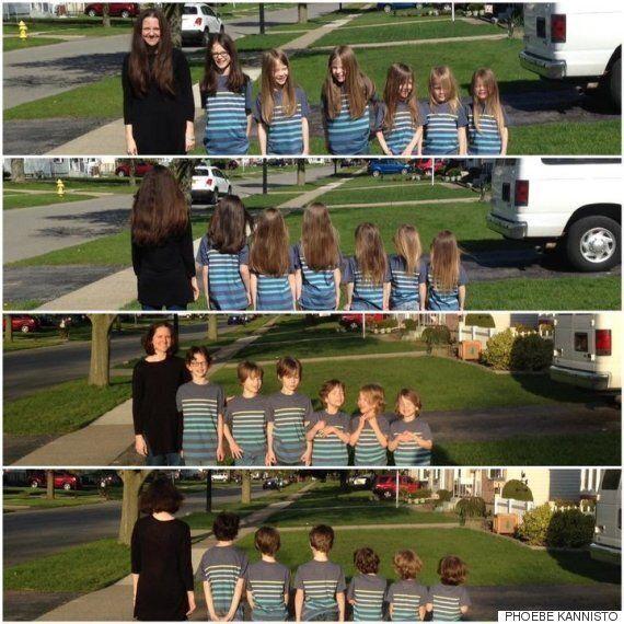 한 엄마와 여섯 아들이 몇 년 동안 머리카락을 자르지 않은 이유는