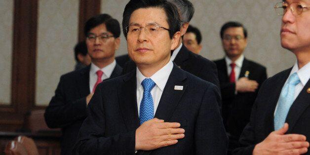 황교안이 곧 '박근혜 정부 마지막 국무회의'를