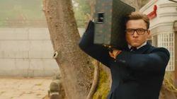 '킹스맨2'가 15초 분량의 티저 예고편을