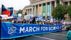 지구의 날, 과학을 위한 행진에서 본 재미난