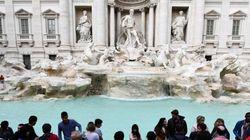 로마 트레비 분수가 1년간 벌어들인 돈은