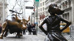 월스트리트 '황소상' 조각가, 뉴욕시의 '두려움 없는 소녀상' 설치는 권리 침해라고