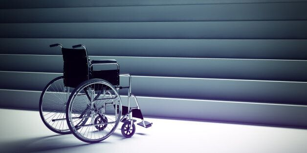 wheelchair and