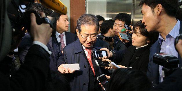 용서의 극장화 | 홍준표 후보의 '박근혜 용서'라는 정치적