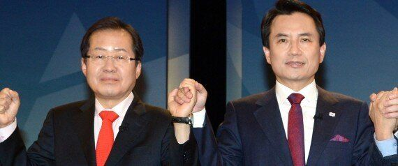김진태와 홍준표의 대선경선 토론은 그야말로